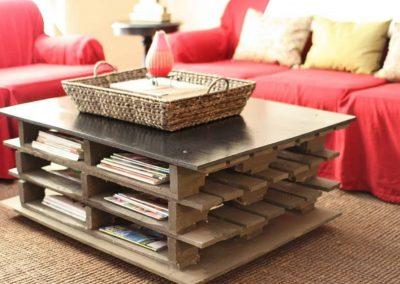 objetos decoracion mesas de centro - Mesas Hechas Con Palets Cheap Butacas Y Mesa Diseados Y Construidos