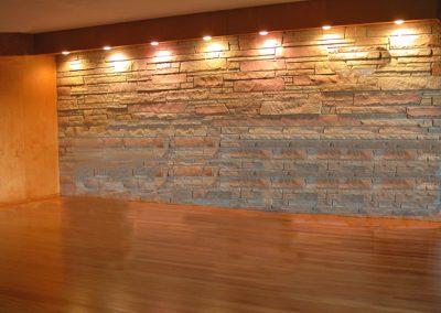 piso madera pidra